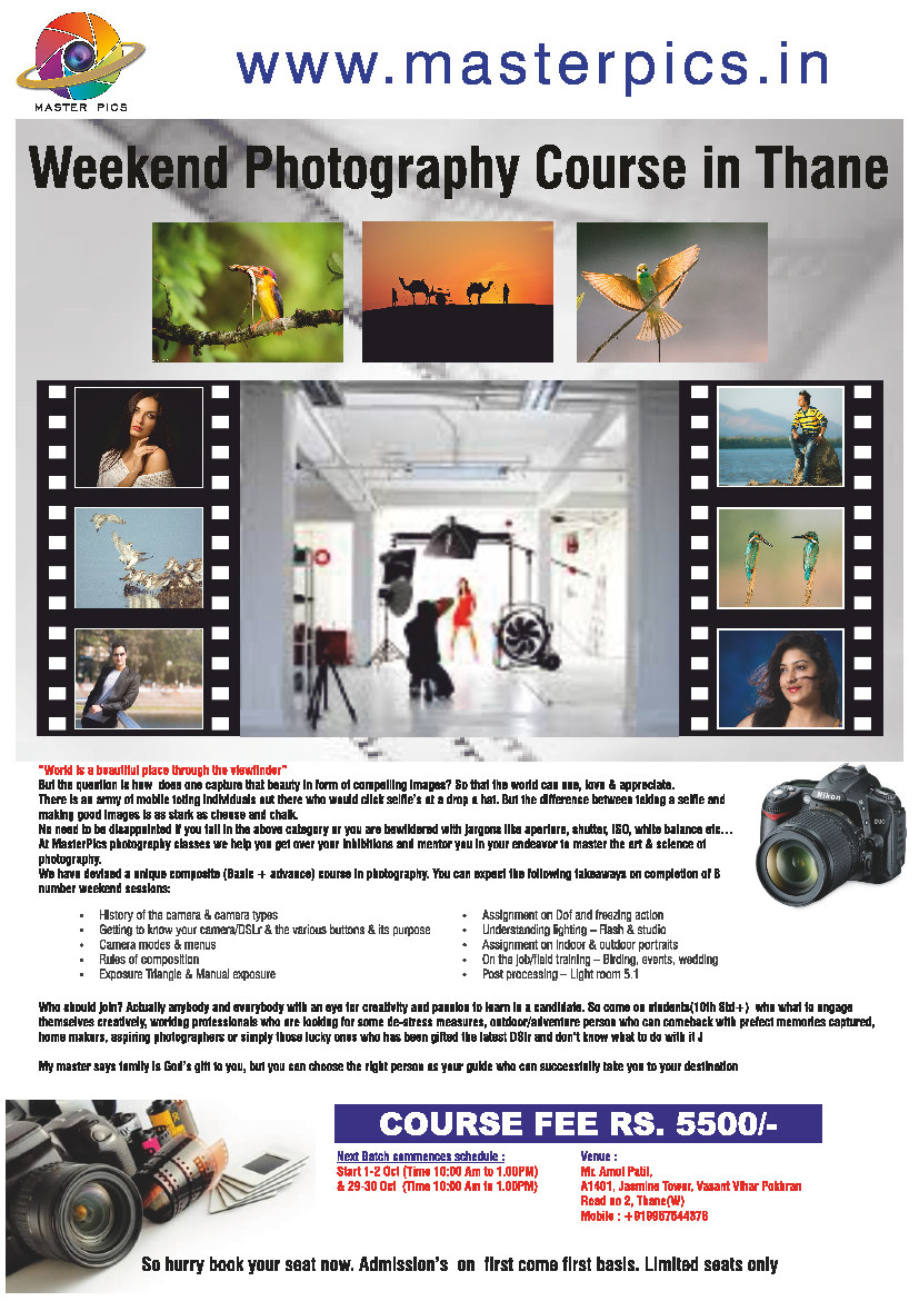 Photography classes
